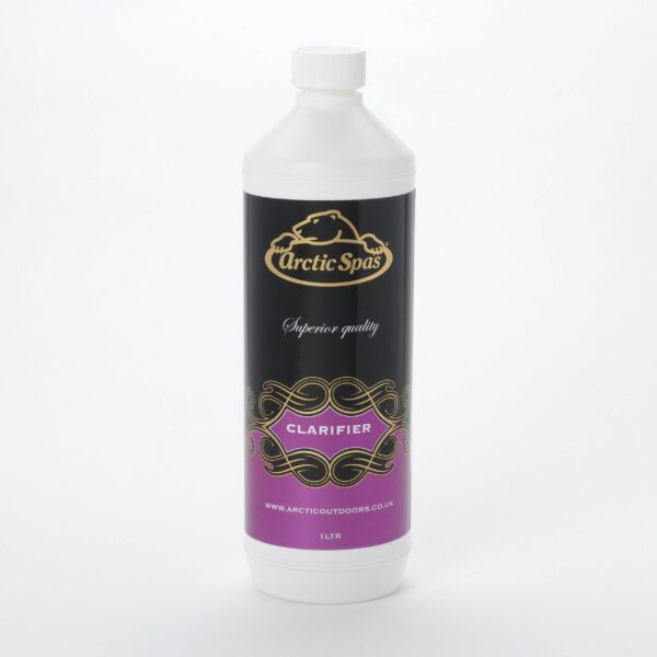 Arctic Hot Tub Clarifier 1ltr - Clarifier Liquid Clears cloudy water – For adding lustre and clarity to spa water Spa Sparkle is a highly effective spa water polisher that collects small particles together for removal by the cartridge