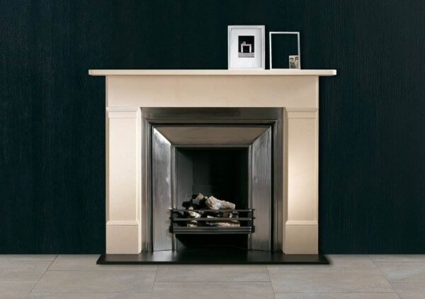 The Colebrooke - One of the most popular 19th century designs comprising simple mouldings to the head of the jambs and a frieze spanning the full width of the body of the fireplace.