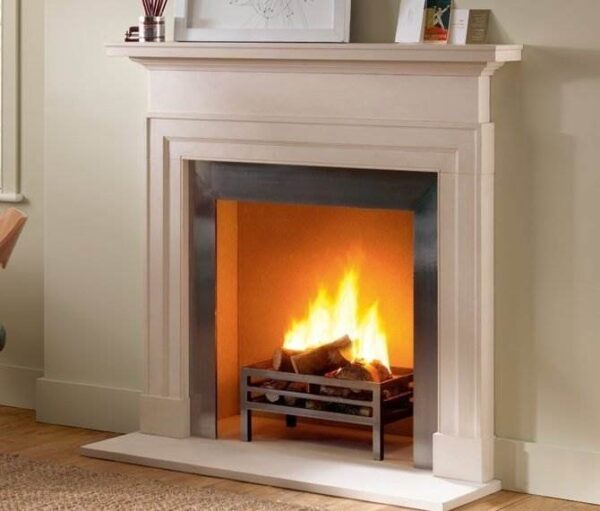 The Dakota - It's time to embrace contemporary living with the sleek proportions and modern silhouette of The Dakota fireplace from Chesneys. By personalising its mantelpiece with classic artwork or timeless memories, it's easy to add your own style to this modern chimneypiece. The compact size and clean lines are timeless – suiting both new and period interiors. Introduce this contemporary limestone fire surround into any living space, and watch as it enlivens even the cosiest of rooms.