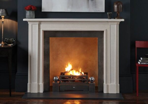 The Madison - For a modern fireplace with classical influences, chose The Madison. The newest addition to the Chesney's contemporary fireplace collection, this beautiful fire surround features elegant tapering pilasters, strong bed moulding and a generous mantel shelf — perfect for displaying your prized possessions. With exquisite smooth finishing, this model lends itself to both modern and period interiors. Available in two model sizes, The Madison will feel right at home in the largest, or cosiest, of rooms.