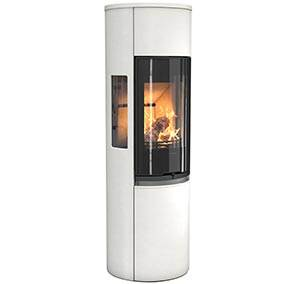 Contura 596 Style - Contura 590T Style with cast iron door is a tall soapstone stove with lots of options. Choose a stove with a Powerstone heat tank or fan for excellent heat distribution.