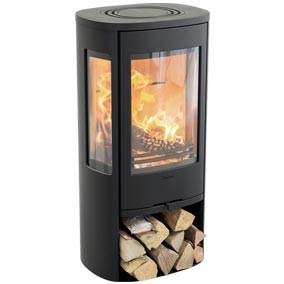 Contura 856 Style - A stove doesn't just spread warmth and cosiness. The visual impression is just as important. The Contura 856 features generous side panes, making the flames visible anywhere in your interior. The stove will be an natural eye-catcher in your home, a place to gather round to get cosy together.