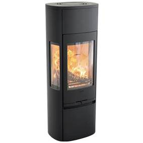 Contura 896 Style - With its generous side panes and tall format, the 896 gives the fire the pride of place it deserves in your home. This stove is available in several colours and variants. The 896 is easy to appreciate; a stove to attract gazes and people.