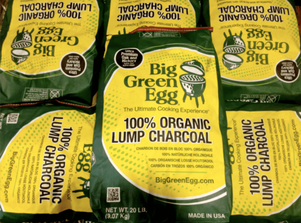 5 x Large Bags of Big Green Egg Charcoal - Our Organic Lump Charcoal is made out of top-quality cuts of American oak and hickory hardwoods for amazing performance and flavour. Why? It contains no by-products, chemical fillers or petroleum additives which would taint your food or damage your EGG. Each large bag will give you roughly 80hrs burn. That's a lot.