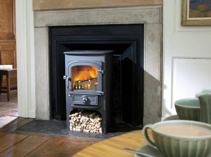 Clearview Pioneer 400P Multifuel Stove 5kw