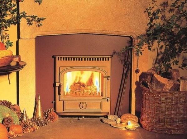 "Clearview Vision Inset Multifuel Stove 5kw - The Clearview Vision inset incorporates all of the Clearview benefits found in the range of <a href=""https://www.topstak.co.uk/stoves/stoves-by-type/freestanding-stoves/clearview-vision-500-multifuel-stove/"">free-standing Vision stoves</a> but can be installed in a fireplace opening where the hearth depth is limited and the least structural disruption is required.  The Clearview inset takes a log of up to 12 inch and is also available with a 8,000 BTU boiler and a range of convection boxes and trims.