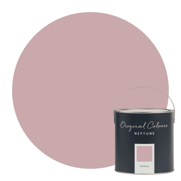 Neptune Old Rose Paint - Inspired by the colour of a classic English rose, Old Rose is elegant without being too feminine. It's a little warmer and earthier than our Pink Peppercorn shade, so it's got a comforting feel. Pair it with Salt, for a fresh feel, or Driftwood which sits well with Old Rose's earthy undertone.
