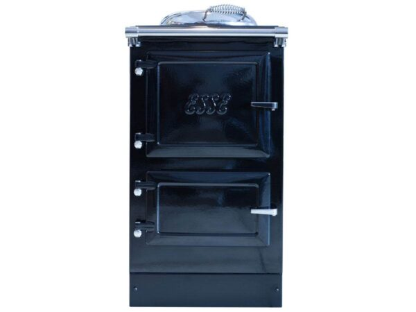 Esse 500 EL - Introducing the 500 EL – a compact electric ESSE range cooker that fits comfortably into any size of kitchen. The 500 EL slots easily into the space reserved for a standard cooker, providing the beauty of a cast-iron stove with the amazing roasting and baking qualities of an ESSE range.