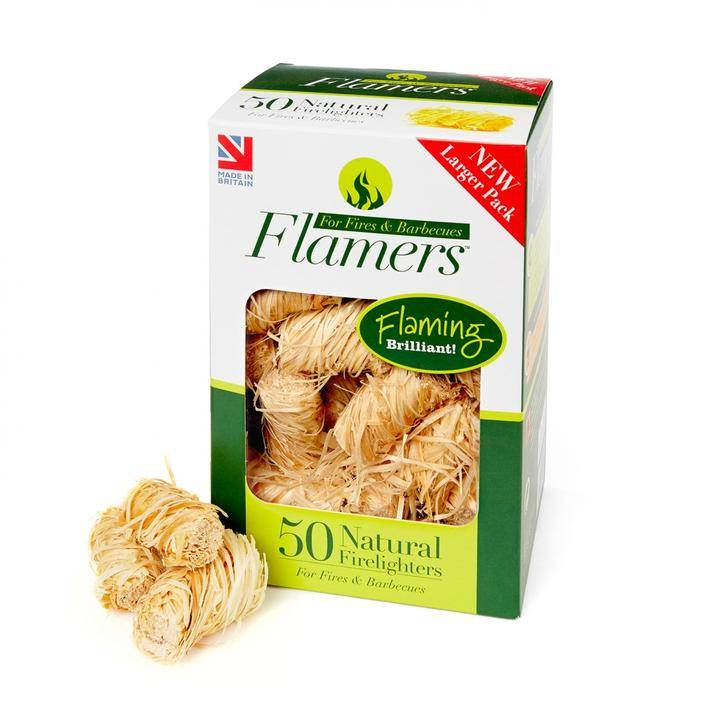 Flamers Firelighters - Box of 50