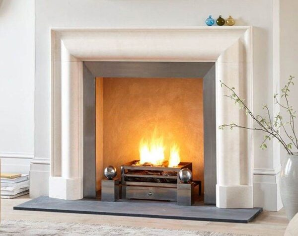 The Kent Bolection - For an interior that's both restful and welcoming, exchange the clutter for the smooth, rounded moulding of The Kent Bolection fireplace by Chesneys. An elegant example of bolection, a moulding style popularised by Christopher Wren, this sophisticated chimneypiece complements stylish interiors with its elegance. If you wish to embrace the 'less is more' philosophy in your home, then this Italian-inspired contemporary chimneypiece will add warmth, light, and vibrancy to chic, modern interiors.