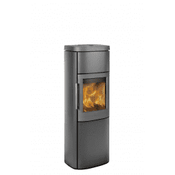 Hwam 4560 - Its friendly shape provides a delightful frame around the crackling flames