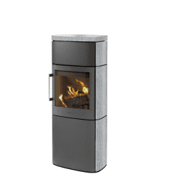 Hwam 4660 - Do you want a discrete stove capable of heating up your home and creating a good atmosphere? Then this stove may appeal to you, as it is the smallest model in the HWAM 4600 series, which is characterised by its extra wide glass section which broadens the view of the dancing flames.