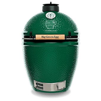 Large Big Green Egg - <p>The Large EGG is our most popular size with families or couples who entertain. It handles the cooking needs from 2 -15 people with a wide range of EGGcessories for Baking, Roasting, Searing or Smoking. Fits 2 Smoking Planks across the diameter and is versatile enough for weekend pizza parties, but efficient enough for a midweek roast chicken for two!</p>