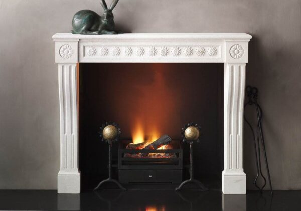 The Loire - The Loire takes as its inspiration a design from the Louis VXI period featuring console jambs and a running fielded frieze and employs the device of simplified detail throughout and oversized decorative corner blocks as a means of establishing it in a modern form.