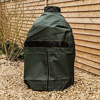 Big Green Egg Cover for Medium - This cover is made from a ventilated, heavy-duty material and is designed to work perfectly for years to come!