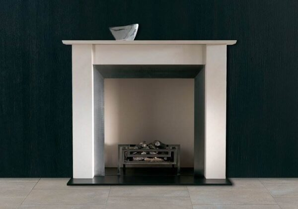"""The Murano - For a modern fireplace that captures the beauty of simplicity, look no further than The Murano. Timeless in its design, this contemporary fire surround features clean, straight lines and a generous mantel shelf ? perfect for displaying prized possessions or adding a personal touch to your room. With excellent proportions and a minimalist silhouette, The Murano is carefully designed to adapt seamlessly to your own interior style. Couple with a?<a href=""""https://www.chesneys.co.uk/products/fire-baskets-register-grates/contemporary"""">contemporary fire basket</a>?to create the ideal open fireplace."""