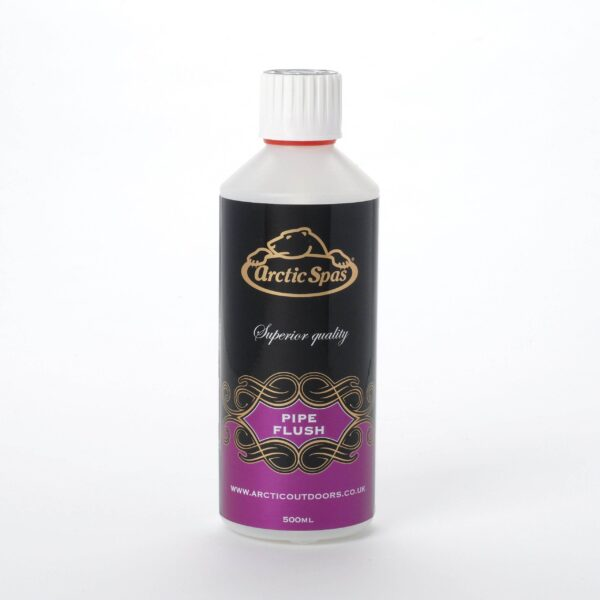 Arctic Pipe Flush 500ml - Pipe Flush is a powerful liquid pipework cleaner. Use just prior to draining down the hot tub to help remove line build up and ensure your water flow is always 100%.