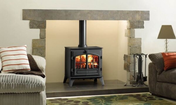Stovax Riva Plus Medium - The Stovax Riva™ Plus Medium is a versatile wood burning stove, ideal for medium to larger sized rooms.