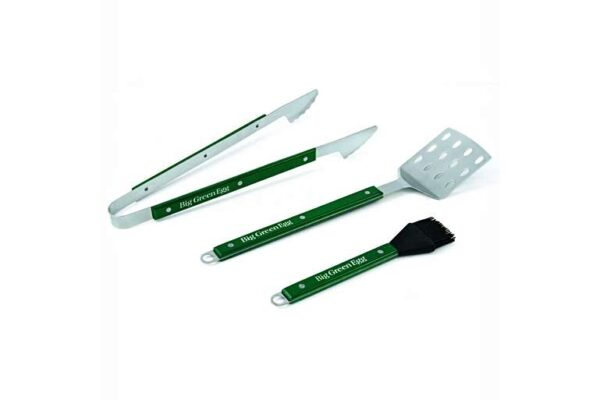 Barbecue Tool Set with Wooden Handles -