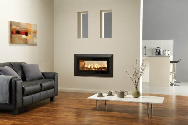"""Stovax Studio 2 Duplex - Offering the ultimate in versatility, each side of the Duplex can be styled with a completely different frame option from the existing Studio range. From the clean finish of the contemporary<a title=""""Studio Edge inset wood burning fire"""" href=""""https://www.stovax.com/stove-fire/riva-studio-inset-wood-burning-fires/riva-studio-edge/"""">Edge</a>to the opulent stone<a title=""""Studio Pienza inset wood burning fire"""" href=""""https://www.stovax.com/stove-fire/riva-studio-inset-wood-burning-fires/riva-studio-pienza/"""">Pienza</a>, or the sparkling<a title=""""Studio Glass inset wood burning fire"""" href=""""https://www.stovax.com/stove-fire/riva-studio-inset-wood-burning-fires/riva-studio-glass/"""">Glass</a>to the bold curved<a title=""""Studio Verve inset wood burning fire """" href=""""https://www.stovax.com/stove-fire/riva-studio-inset-wood-burning-fires/riva-studio-verve/"""">Verve</a>, you can achieve a distinctive look in each room, whilst enjoying the rolling flames from the very same fire."""