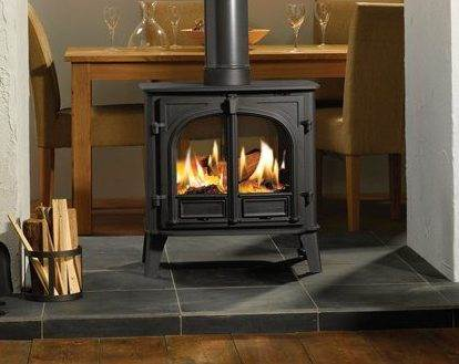 "Stovax Stockton 8 Double Sided - Not only will this Stovax Stockton 8 wood burning and multi-fuel inset convector stove provide impressive heating capacity compared to a standard open fireplace but it also offers you most of the benefits of our freestanding <a title=""Stockton 8 stove"" href=""https://www.stovax.com/stove-fire/stockton-wood-multi-fuel-stoves/stockton-8/"">Stockton 8 stoves</a>. The Stockton 8 Inset stove is highly practical too. It has full multi-fuel capability with external riddling, double doors for easy loading/stoking and both Cleanburn and convection systems for greater heating efficiency, whilst the highly effective airwash facility ensures that you enjoy a clearer view of the fire."