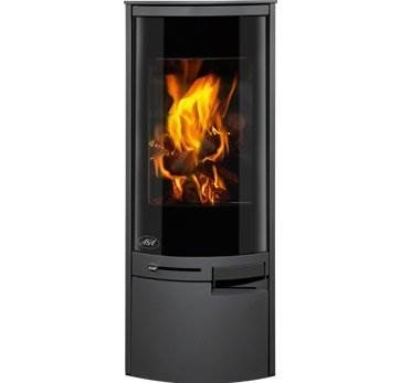 Aga Westbury - The Westbury wood burning stove will draw the attention of everyone in the room with its huge glass door and striking flame picture.