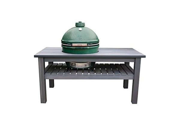 Big Green Egg Cover for X-Large Royal Mahogany Table - Keep your EGG looking like new with this attractive heavy-duty weatherproof cover, designed to work perfectly for years to come! The premium quality fabric resists fading and offers increased durability even in extreme temperatures. Please note this cover fits the Royal Mahogany & Slate Grey tables pictured.