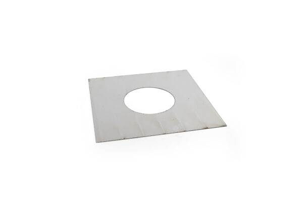 Flexible Liner Top Closing Plate - Stainless Steel