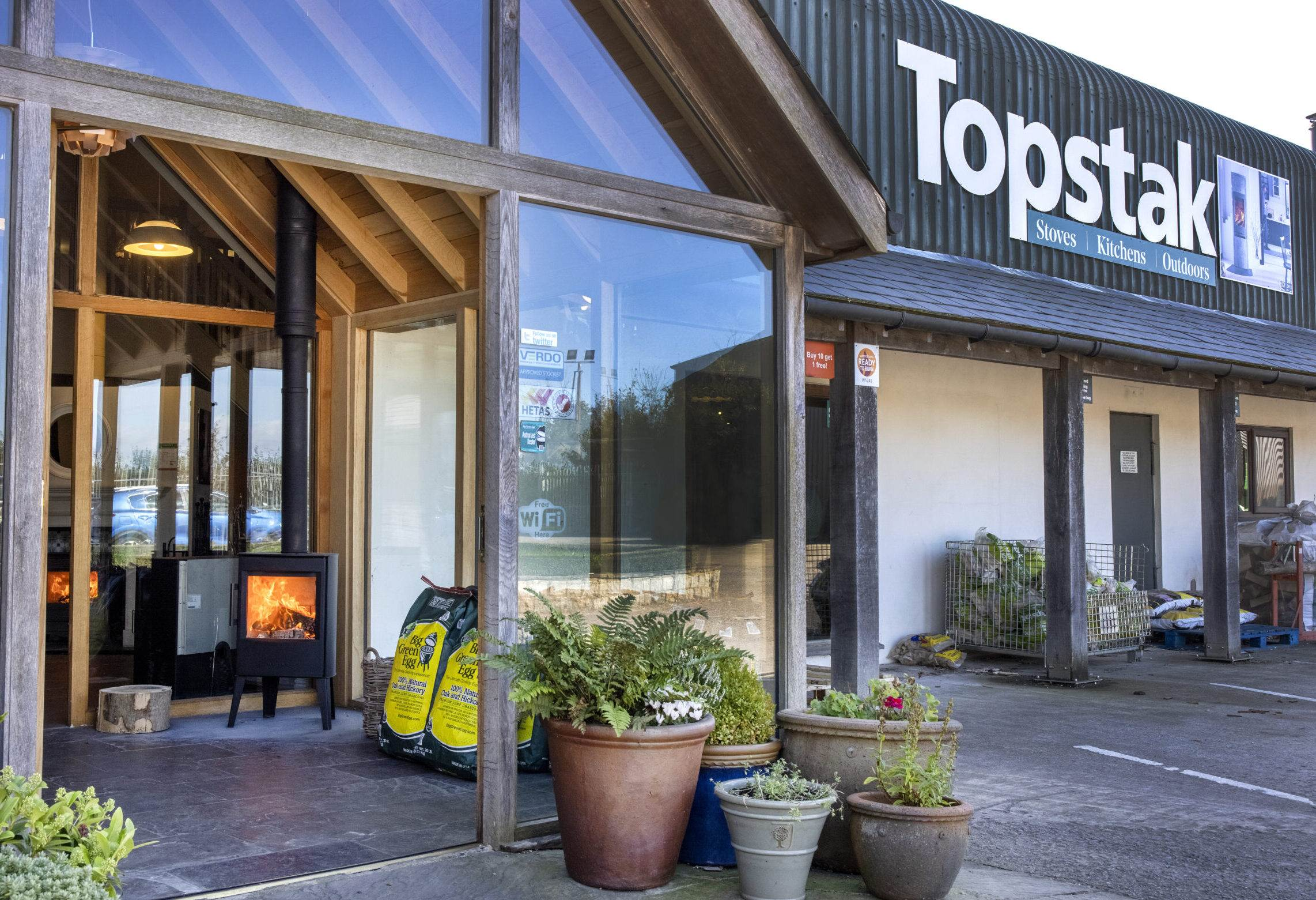 Topstak Showroom Front