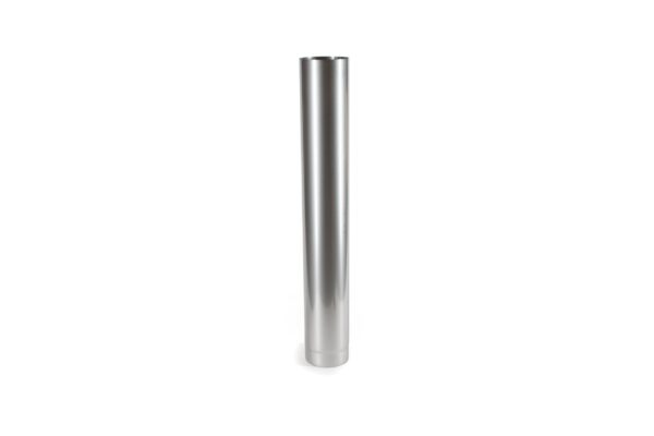 1m Length Stainless Steel Flue Pipe - Prima Smooth is a lightweight precision engineered product, designed for use on atmospheric wood burning and multi-fuel appliances with continuous operating temperatures of up to 600?C. The joints in the pipe are designed to give a smooth visual appearance.