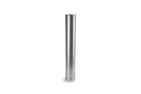 1m Length Stainless Steel Flue Pipe with Stove Spigot - Prima Smooth is a lightweight precision engineered product, designed for use on atmospheric wood burning and multi-fuel appliances with continuous operating temperatures of up to 600?C. The joints in the pipe are designed to give a smooth visual appearance.