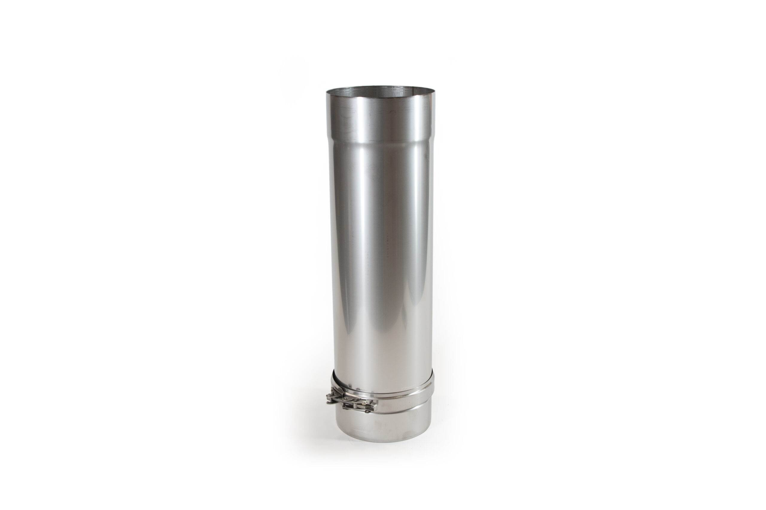 80mm-400mm Adjustable Length Stainless Steel Flue Pipe