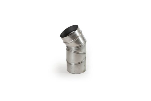 0°-90° Adjustable Stainless Steel Flue Pipe - Prima Smooth is a lightweight precision engineered product, designed for use on atmospheric wood burning and multi-fuel appliances with continuous operating temperatures of up to 600°C. The joints in the pipe are designed to give a smooth visual appearance.