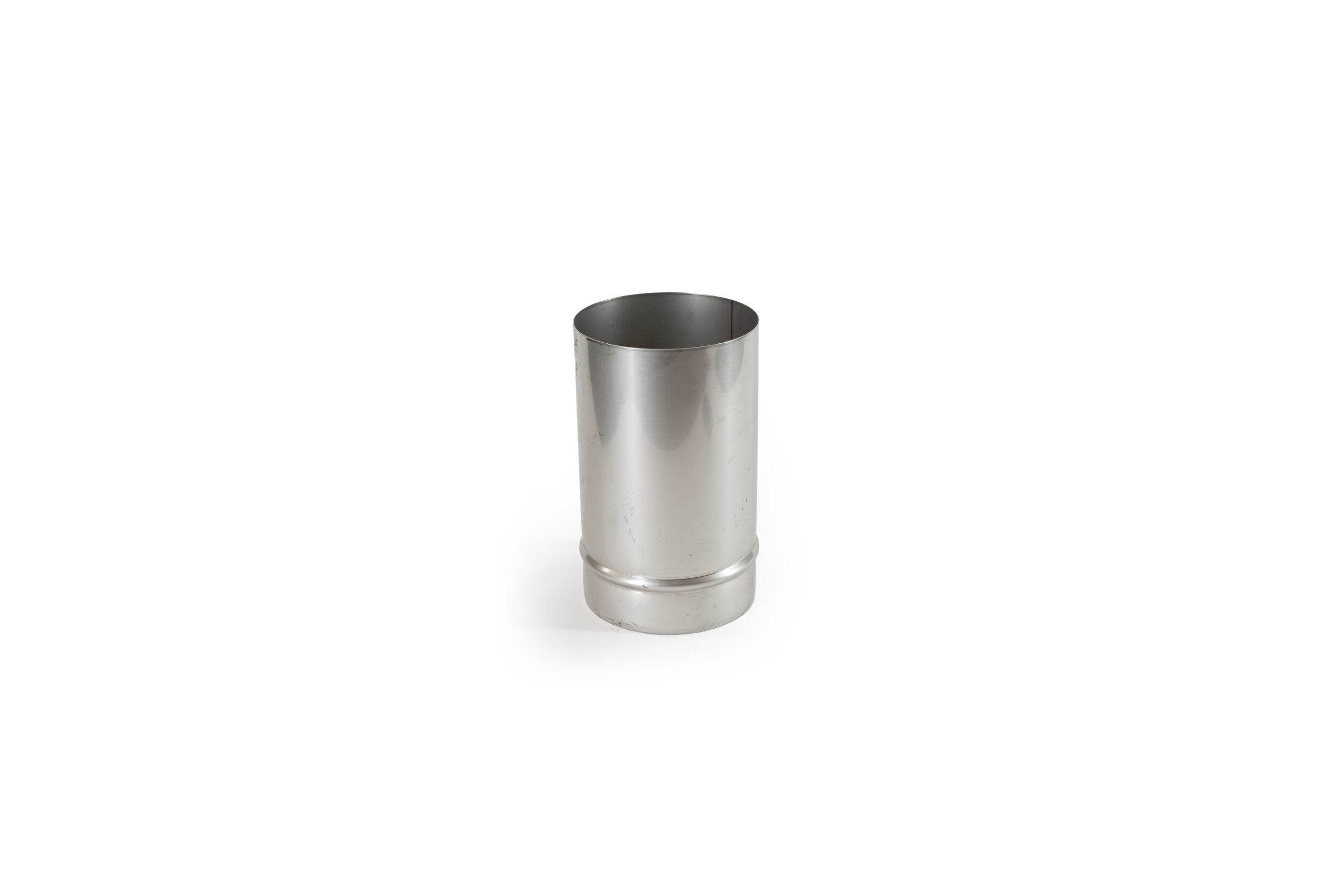 250mm Length Stainless Steel Flue Pipe with Stove Spigot