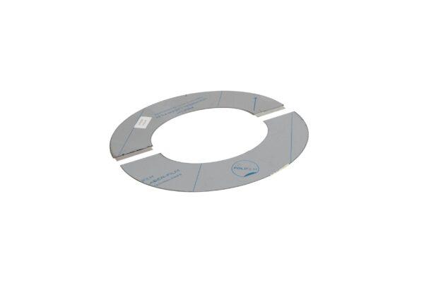Round Ceiling/Wall Trim 45° - Twin Wall/Single Skin Flue -