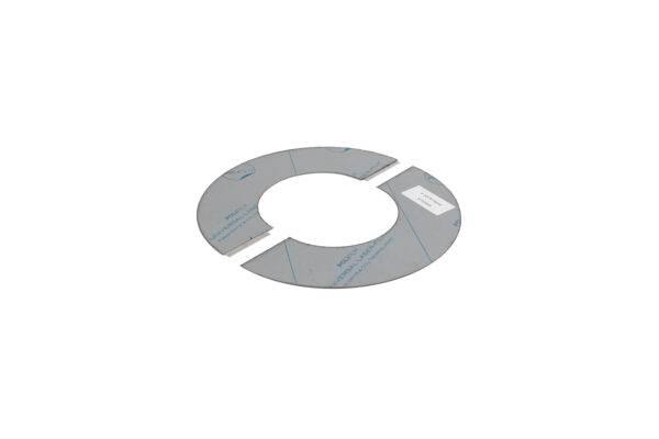 Round Ceiling/Wall Trim 90° - Twin Wall/Single Skin Flue -