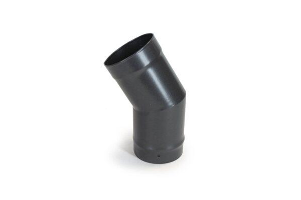 30° Bend - Vitreous Enamel Flue Pipe - Matt Black
