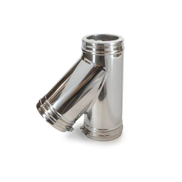 Insulated Chimney System 135 degree tee J2121