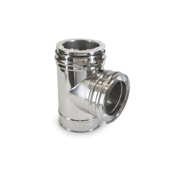 Insulated Chimney System 90 degree tee J2120