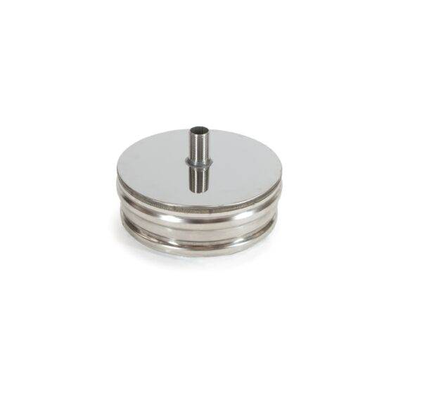Insulated Chimney System J2129 ICS tee plug with drain