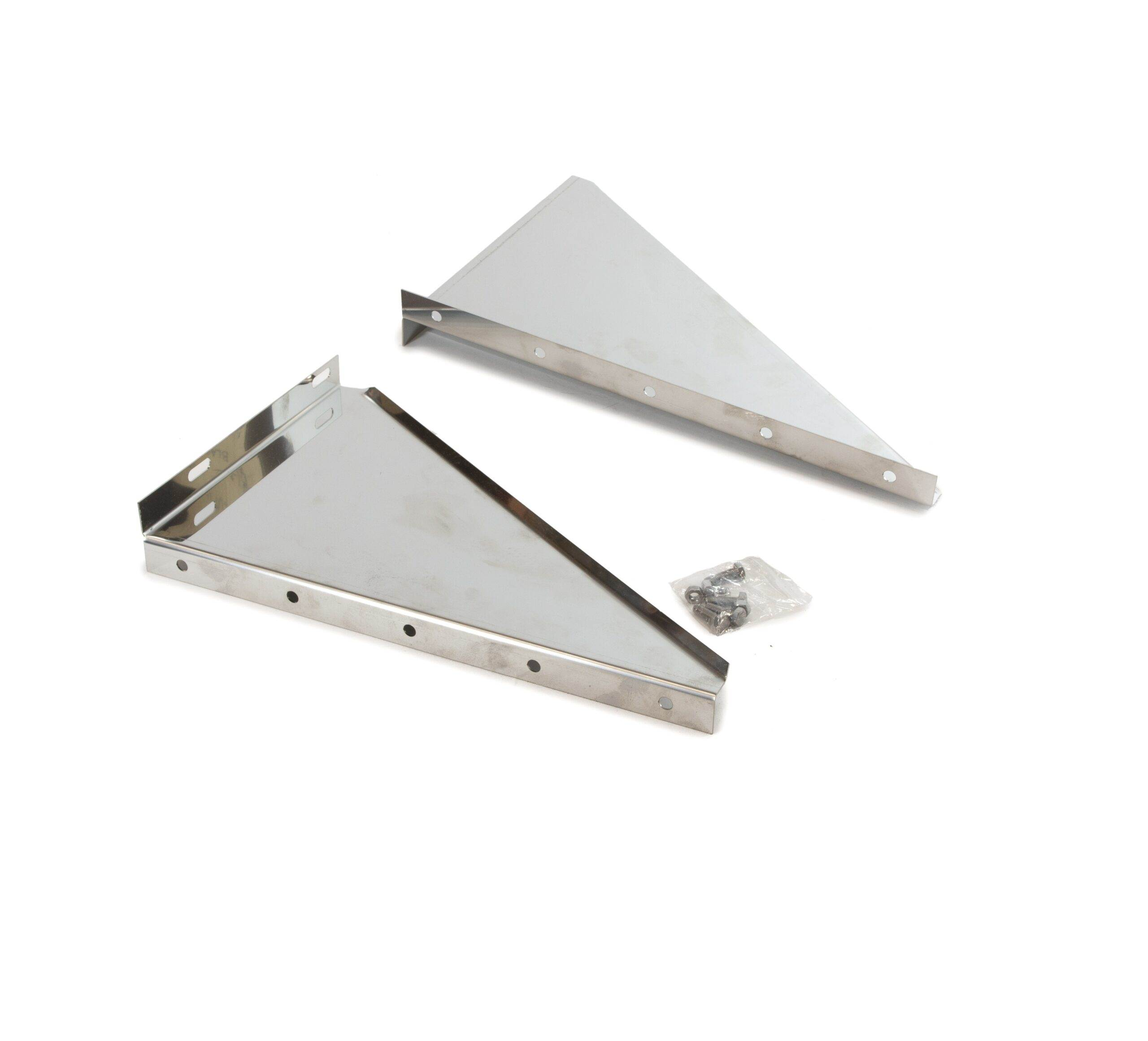 Insulated Chimney System Wall support side plates