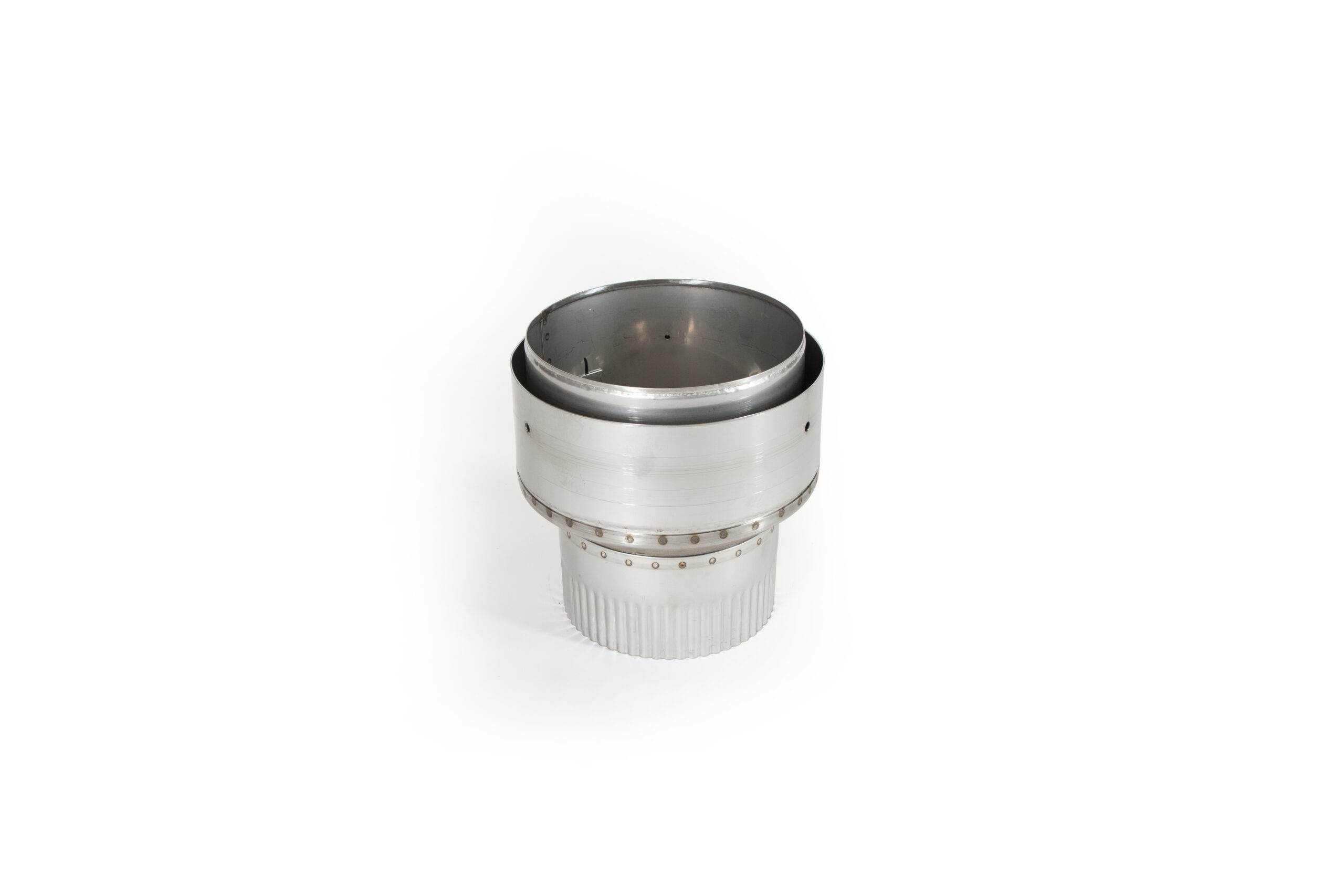 Flexible Liner to Flue Pipe Reducer - Stainless Steel
