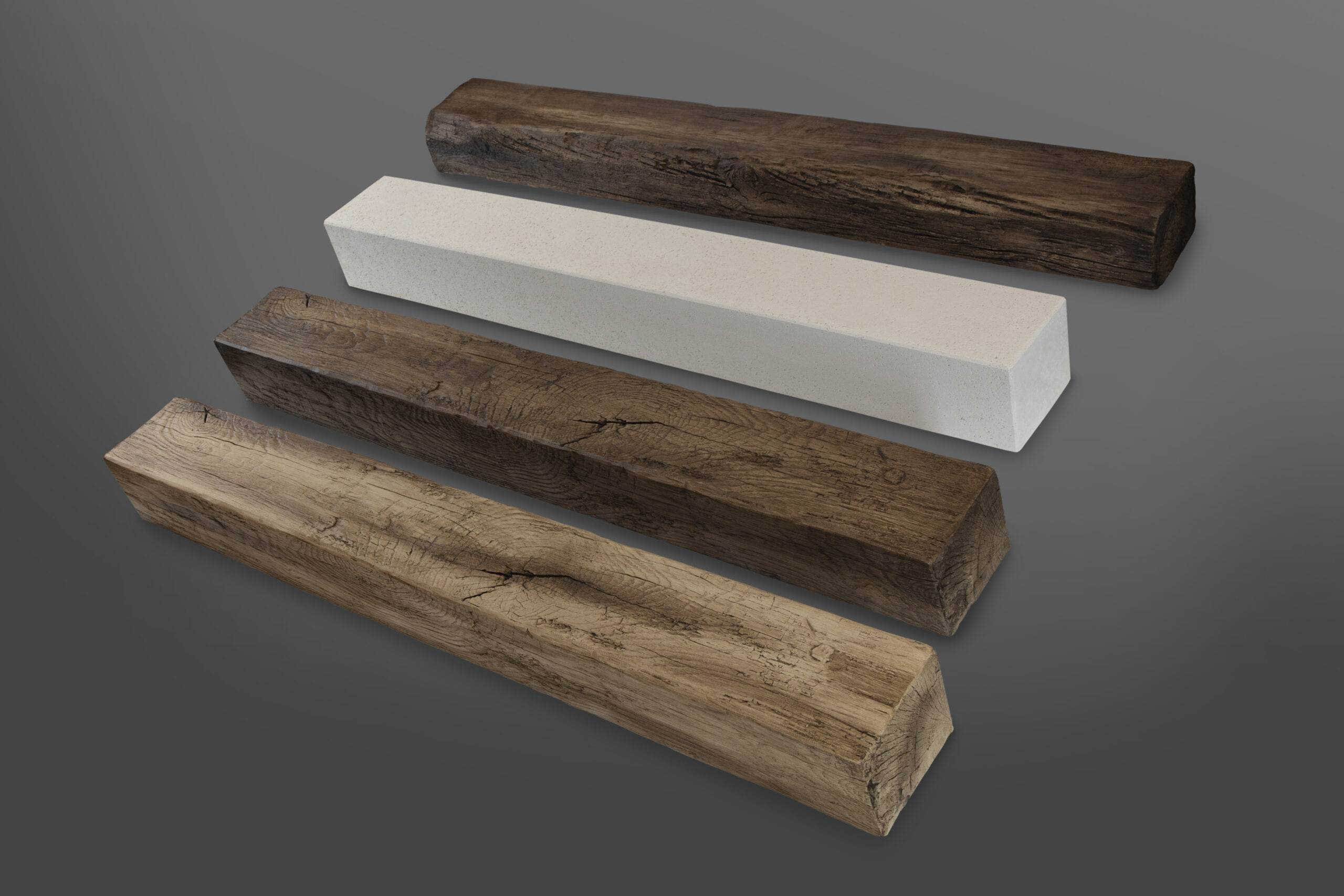 Fireplace mantle Beams
