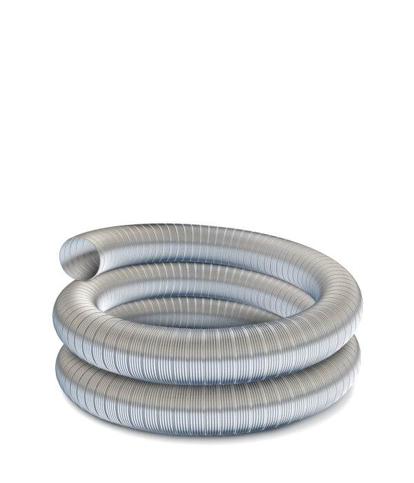 "Technoflex Flexible Flue Liner - 6m Length - 125mm (5"") Diameter - 316 grade"