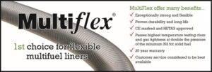 Multiflex Chimney Liner
