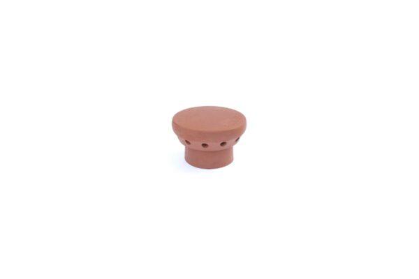 FLUE VENTILATOR 190MM INSERT RED - 190mm external diameter spigot