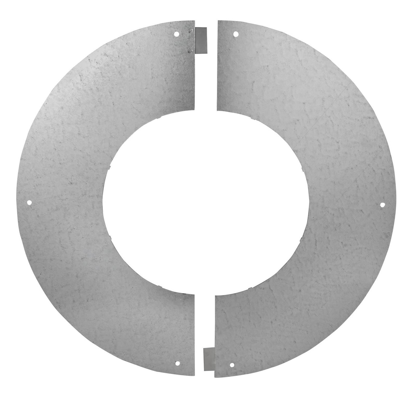 Unventilated Bungalow Round Firestop Plate - Schiedel ICID Twin Wall