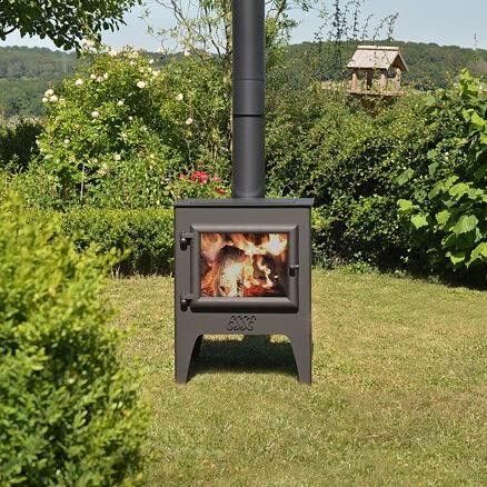 Esse Garden stove fire
