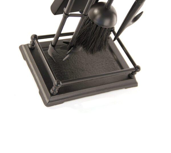 "Gallery Fireplace Tool Set - Black 23"" High"