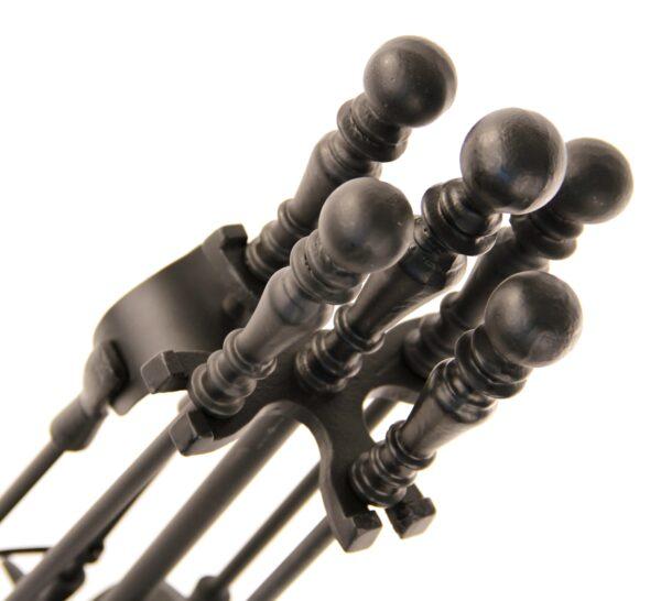 "Duchess Fireplace Tool Set - Black 19"" High -"
